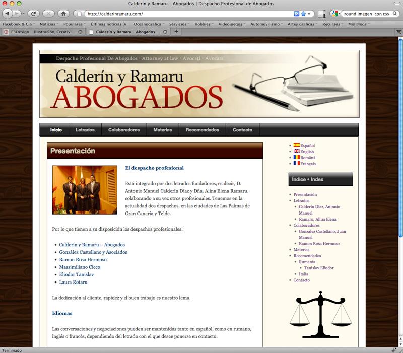 Post thumbnail of DISEÑO – Visita calderinramaru.com